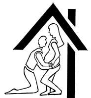 Husband/Wife Homebirth Logo