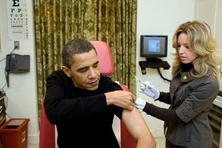 obama gets shot