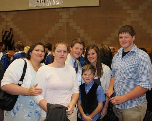Jeff Grad w family