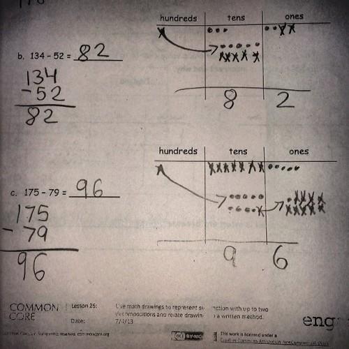 Common Core Math Lesson