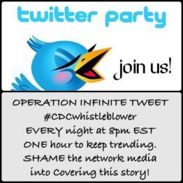 Twitter Party cdcwhistleblower