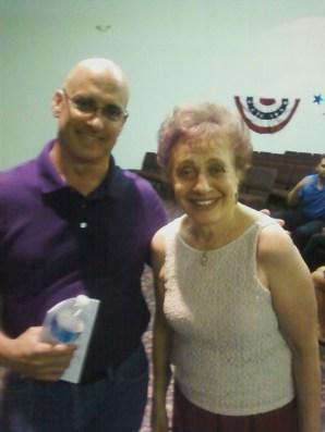 Brad with Sandra Stotsky