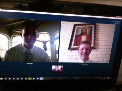 Skypping at Christmas