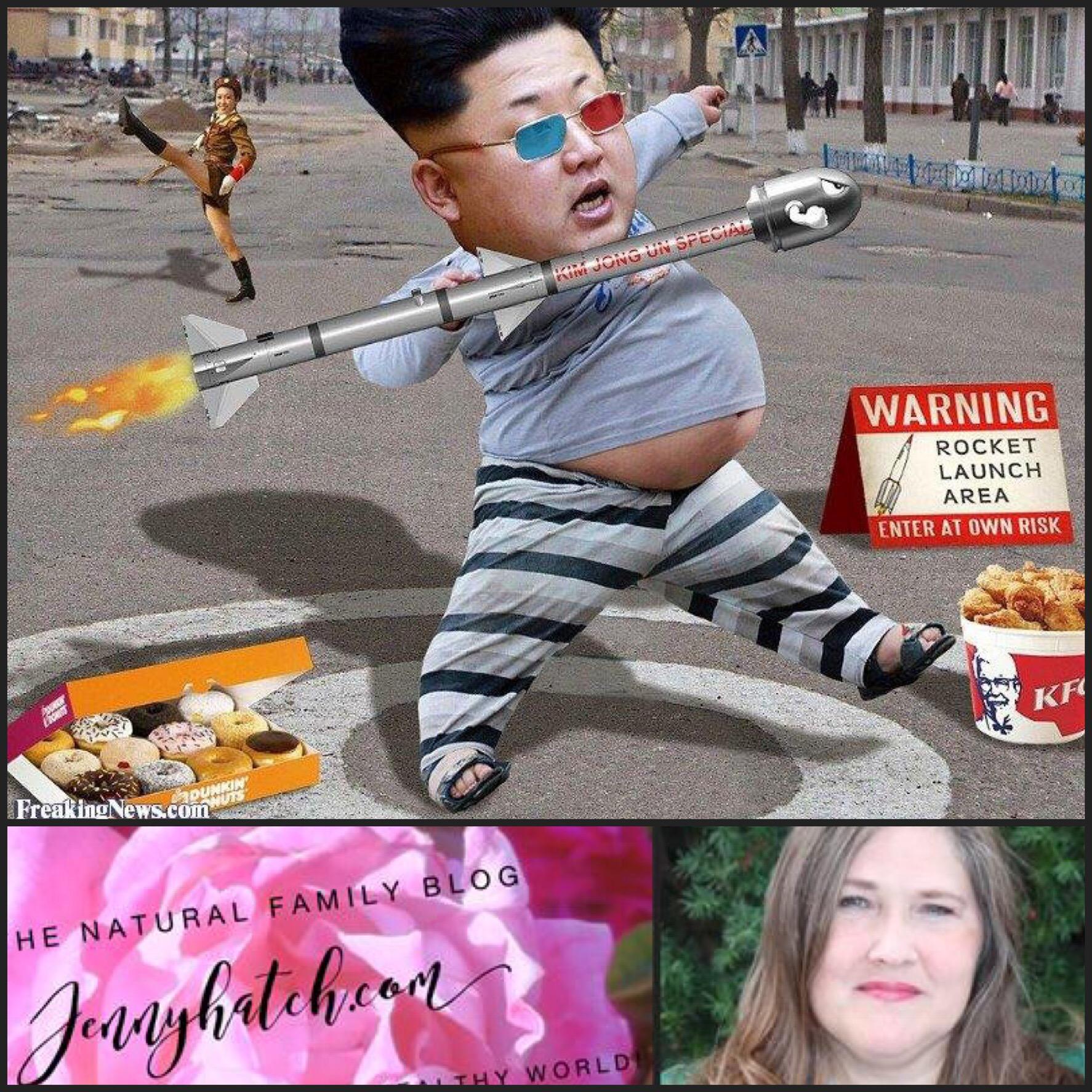 Rocketman Kim Jong Un