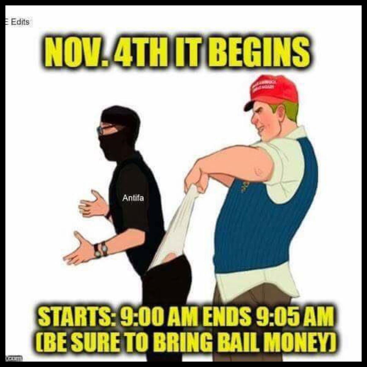 antifa commie revolution was a dud u2026funniest memes