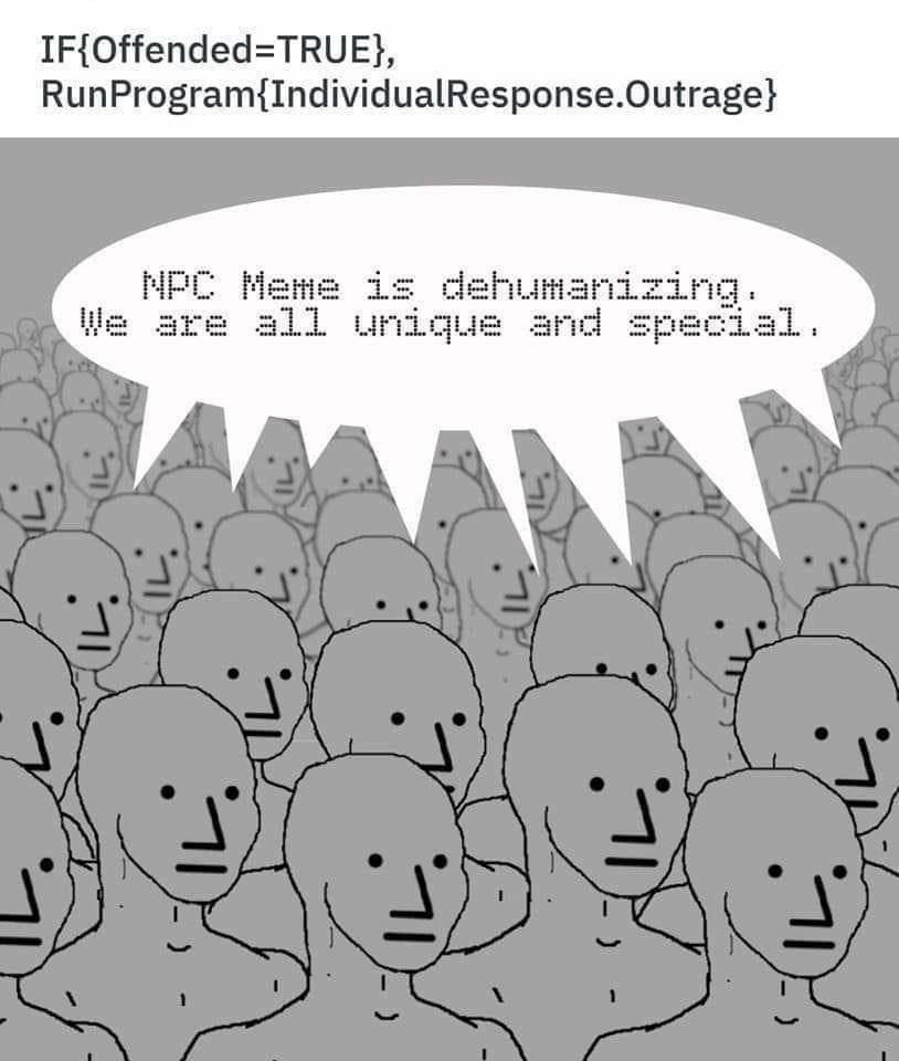 NPC Memes  @JennyHatch #NPC #NPCLivesMatter #NPCmemes
